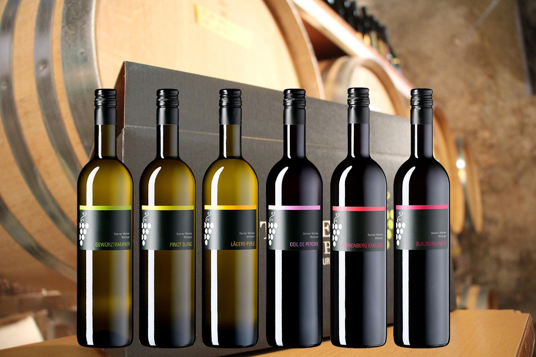Weinpaket für Gwundernasen